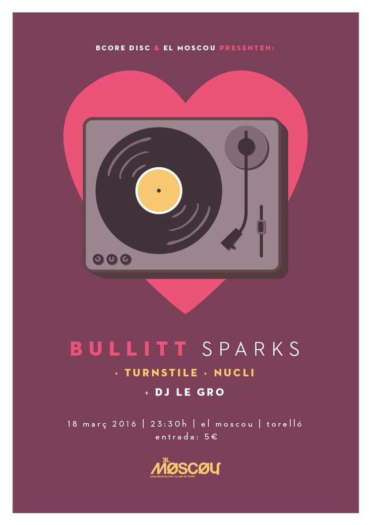 Bullitt + Turnstile + Nucli