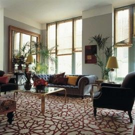 Mamounia by Martyn Lawrence Bullard for The Rug Company in an interior setting