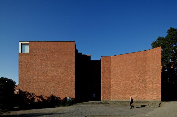 Jyväskylä University by Alvar Aalto (Jyväskylä, Finland)