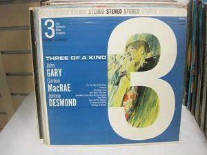 John gary site:ebay.com   Three-of-a-Kind-John-Gary-Gordon-MacRae-Desmond-12-Record-Vinyl-LP-DLP ...