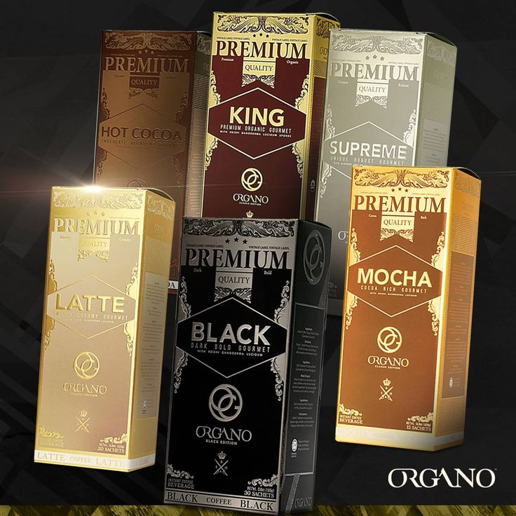 Pack Gold Silver Organo