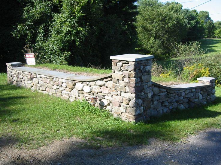 Stone pillar - Muretti in pietra giardino ...