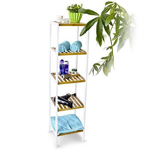 103 best Bambus im Badezimmer images on Pinterest Bathroom, Half - regal fürs badezimmer