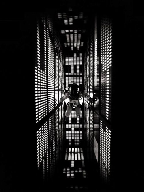 I'd love to have a huge poster of this.  2001: A Space Odyssey