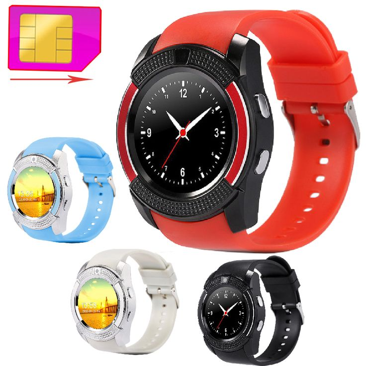 V8 Smart Armbanduhr Unterstützung 2G GSM SIM TF Karte Sport Uhr Smartwatch Kamera MP3 Intelligente Uhr Für Android Samsung Xiaomi //Price: $US $20.55 & FREE Shipping //     #smartuhren