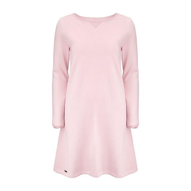 Sukienka (Sama) Frajda w kolorze pastelowego różu  Dostępna na: http://mojkrajtakipiekny.com/kategoria/sukienki/sukienka-sama-frajda-rozwo-jasna