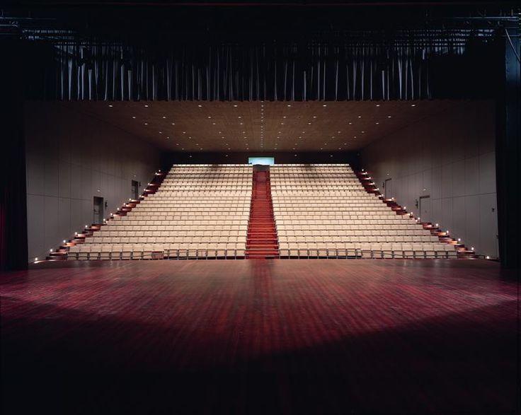 OPUS auditorium chair in University of Santiago de Compostela, Spain