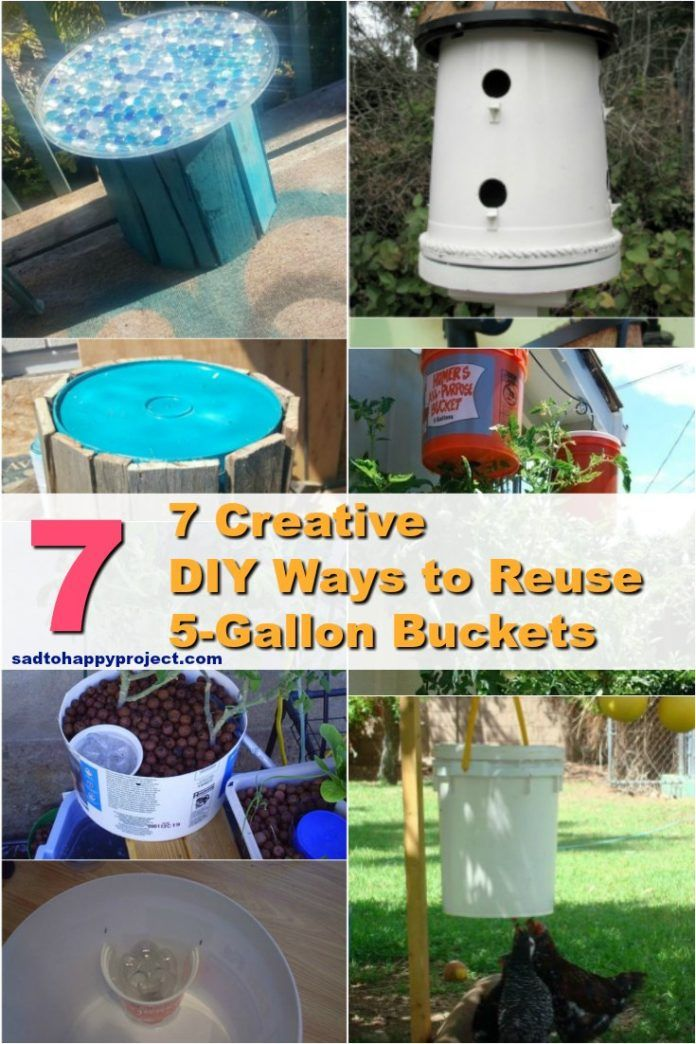 7 Creative Diy Crafts Ideas To Repurpose Five Gallon Buckets Diy