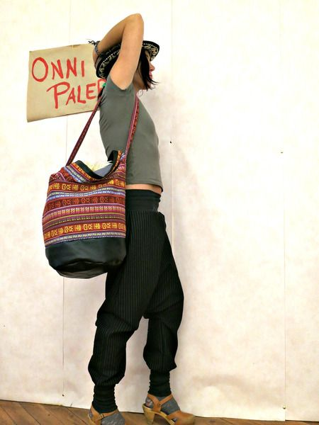 Ethno Tasche bunt Bohemian Style von Onni Palermo auf DaWanda.com