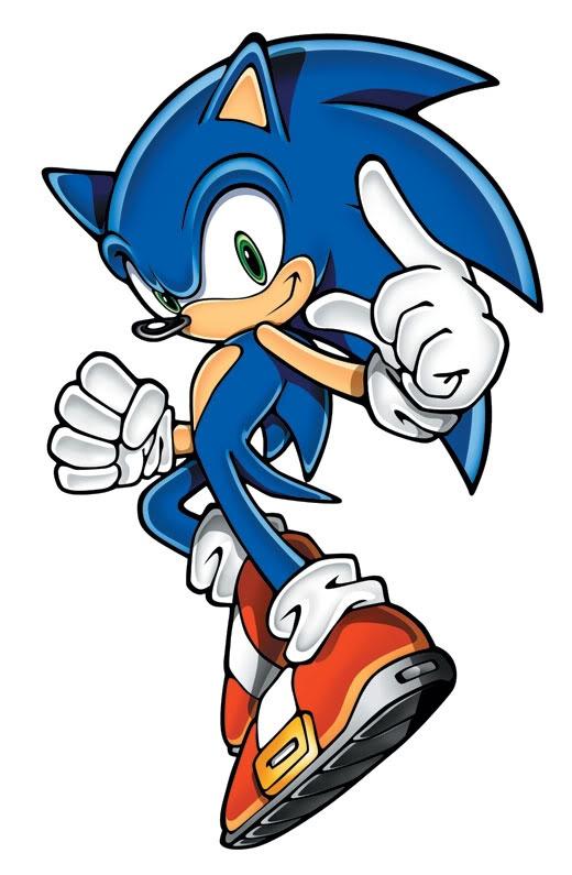 Sonic el Erizo en Sonic Rush