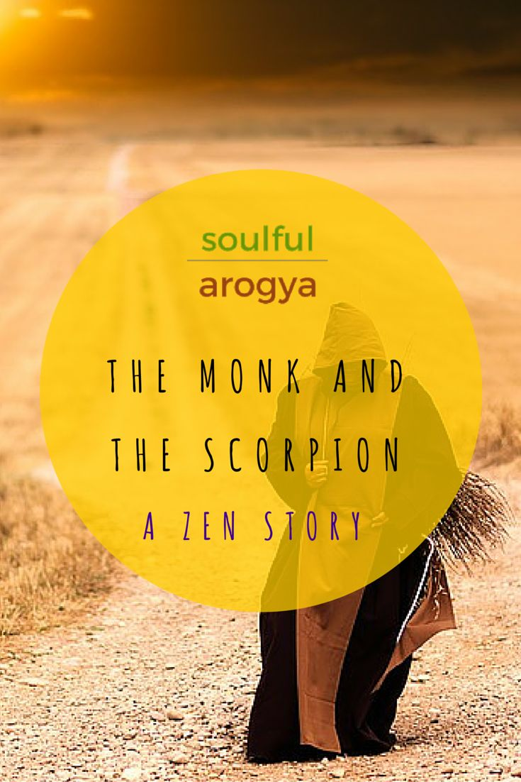 The Monk and the Scorpion - A Zen Story with a Crucial Life Lesson #Zen #Mindfulness #Buddhism #Buddha