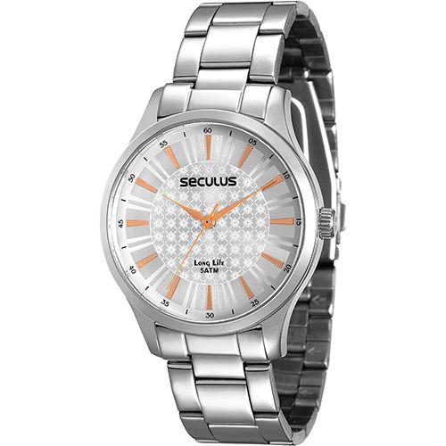 b9175dac3 Relógio Feminino Seculus Analógico - 28507l0sgna1 - Shoptime