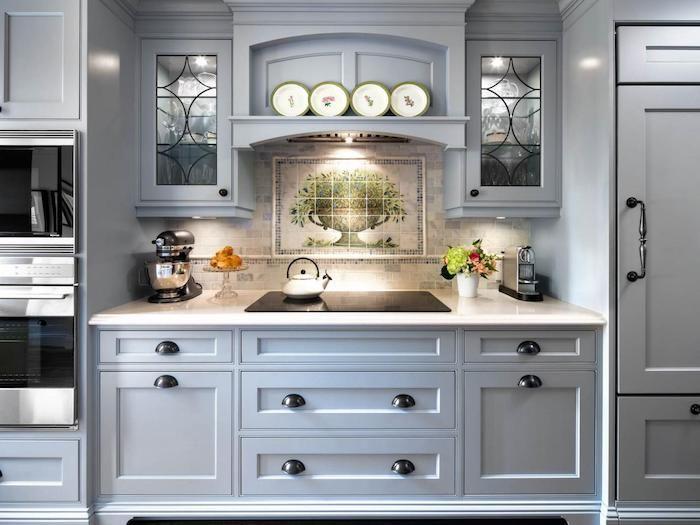 Die besten 25+ blau grau Küchen Ideen auf Pinterest Graue küche - farbe fur kuche aktuellen tendenzen