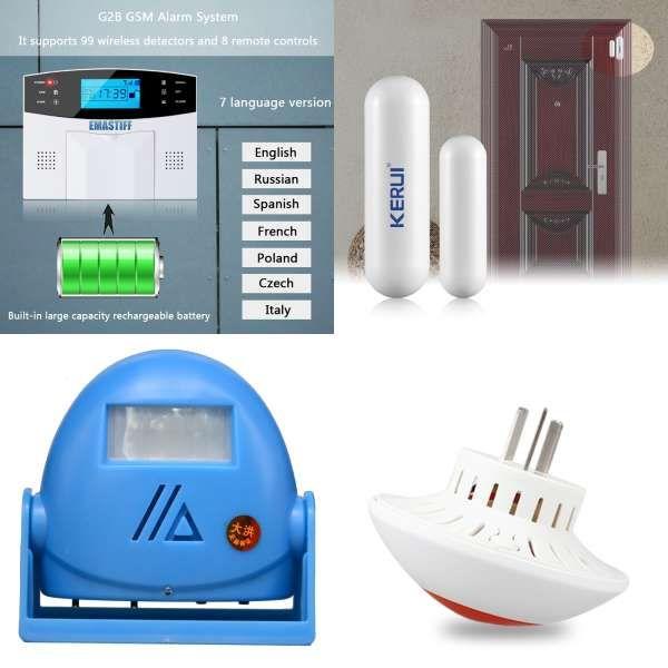 Epingle Sur Security Alarm
