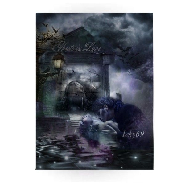 Ghosts in Love by icky69 on Polyvore featuring arte