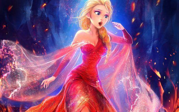 Elsa Frozen Wallpaper Widescreen.