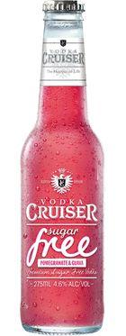 Vodka Cruiser Sugar Free Pomegranate & Guava