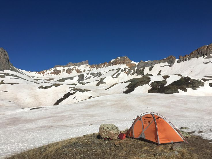 No one is more excited for this Colorado winter to thaw than I am. Ice Lake Basin Silverton area #camping #hiking #outdoors #tent #outdoor #caravan #campsite #travel #fishing #survival #marmot http://bit.ly/2q8NF2g