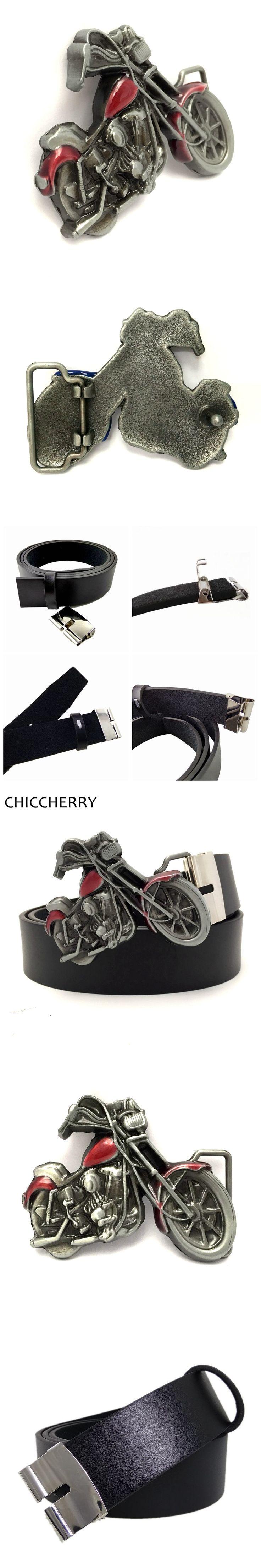 New Fashion Mens Designer Jeans Cool Belts 3D Motorcycle Metal Belt Buckles For Men Punk Fivelas Cowboy Cinto Ceinture Masculino