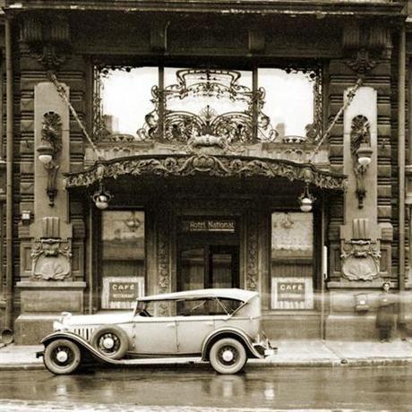 Hotel National, Moscow, 1903. Architect, Alexander Ivanov.