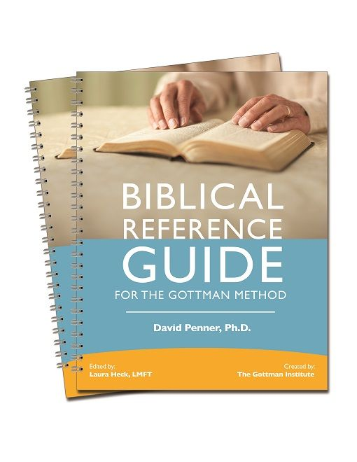 Biblical Reference Guide For The Gottman Method - Integrate scripture into your work with couples! #biblical
