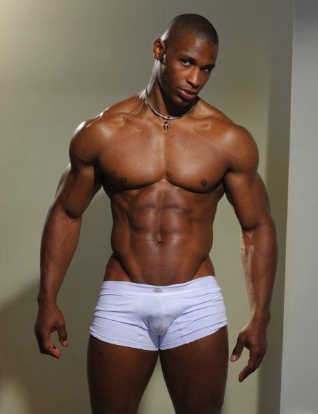 big black guy