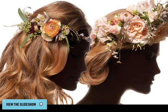 Beautiful flowers for hair