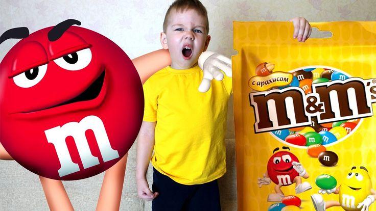BAD BABY ОГРОМНЫЙ M&M'S Bad baby Giant Candies M&M's