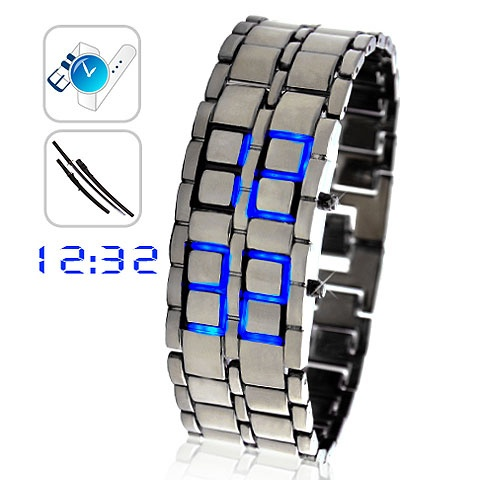 Cool Fashion Bracelet Type LED Digital