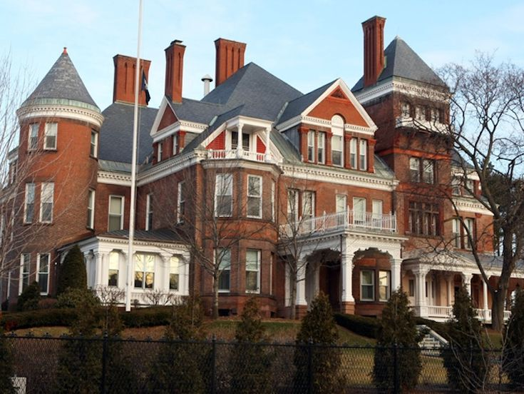1000 images about u s governors mansions on pinterest for Old new york mansions