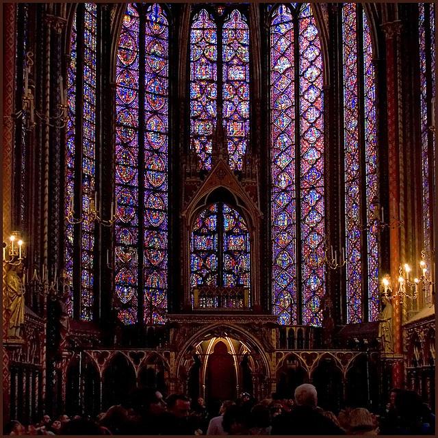 La Sainte Chapelle, Ile de la Cite, Paris