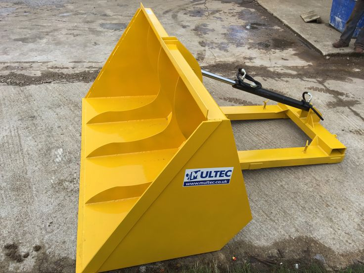 7Ft Hydraulic Forklift Bucket