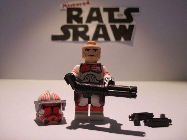 Lego Star Wars minifigures - Clone Custom Commander Thorn