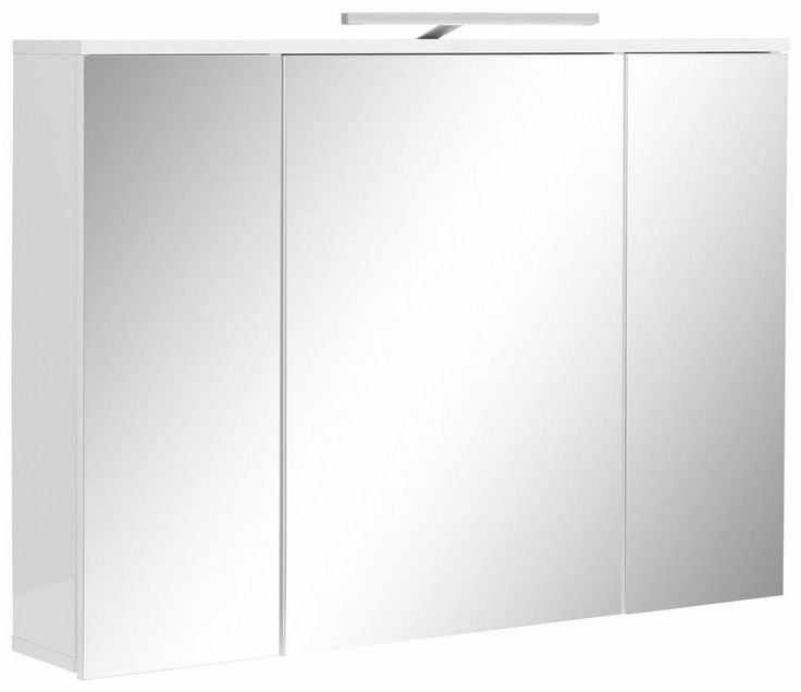 Welltime Spiegelschrank »Sky« für 219,99€. Inklusive Beleuchtung, Individuell verschiebbar, Maße (B/T/H): 99/18/71 cm, FSC®-zertifiziert, Spiegeltüren bei OTTO