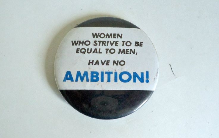 Pinback Button Vintage Feminism Pin Back Button Humorous by TreasureCoveAlly on Etsy