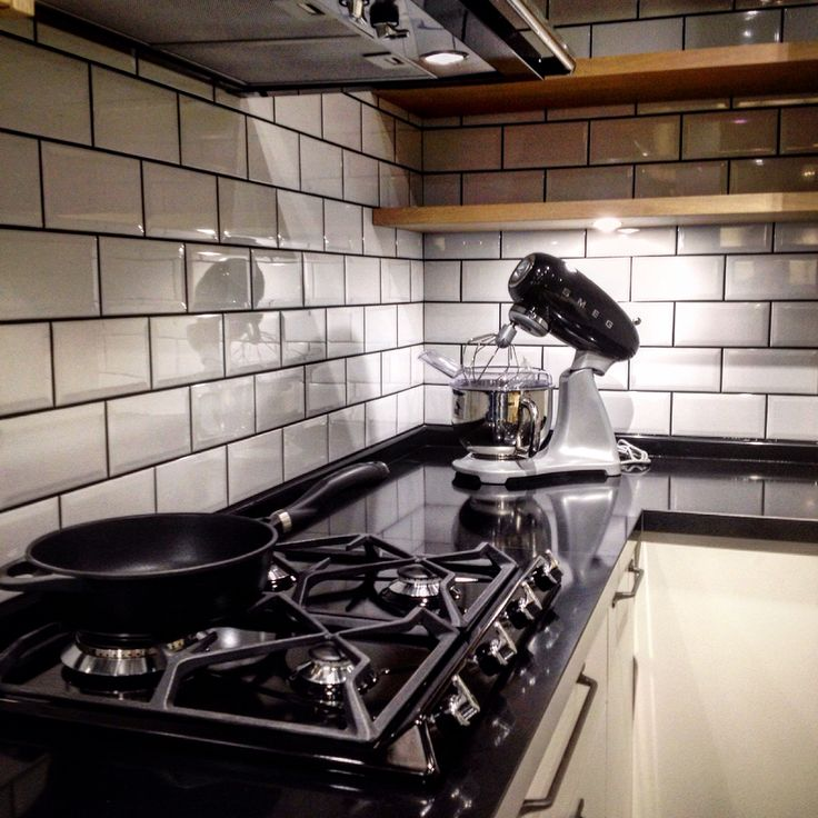 Smeg Victoria Gas Hob in Black