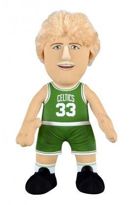 Poupluche 25 cm Larry Bird - Boston Celtics - 22,00 €