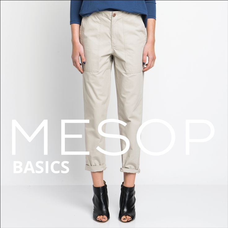Mesop Basics Kiss the Dirt Chino | Autumn 2016 Collection 'Elemental www.mesop.com