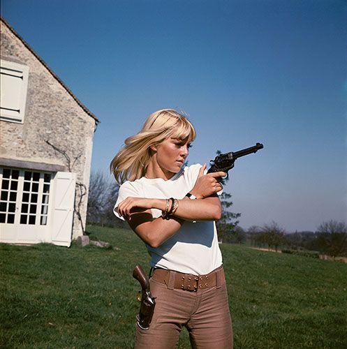 Jean-Marie Perier - Photographe - Sylvie Vartan, Grosrouvre 1963