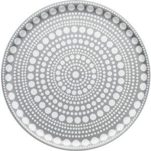 Kastehelmi Tarjotin, 35 cm vaaleanharmaa,