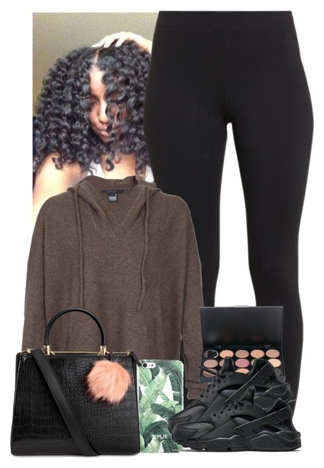 """Bad Thang"" by imwhit ❤ liked on Polyvore featuring Maidenform, Scoop and NIKE"
