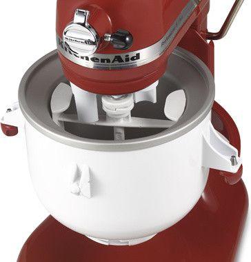KitchenAid® Ice Cream Maker Bowl Attachment contemporary small kitchen appliances