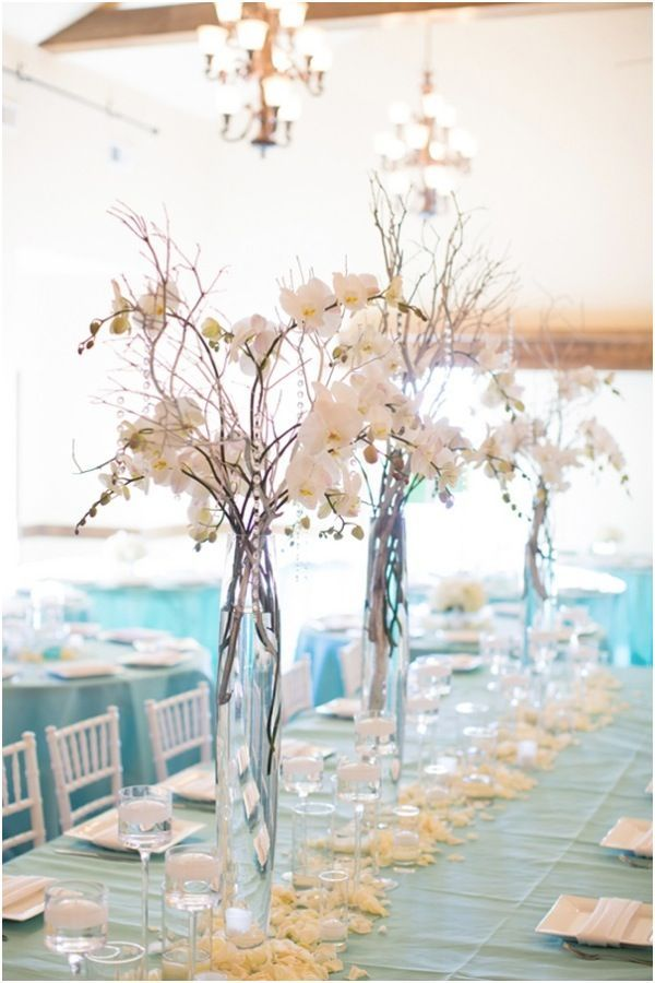 Descubre como hacer centros de mesa para bodas con flores y jarrones de vidrio | Centros de Mesa para Boda Económicos y Originales