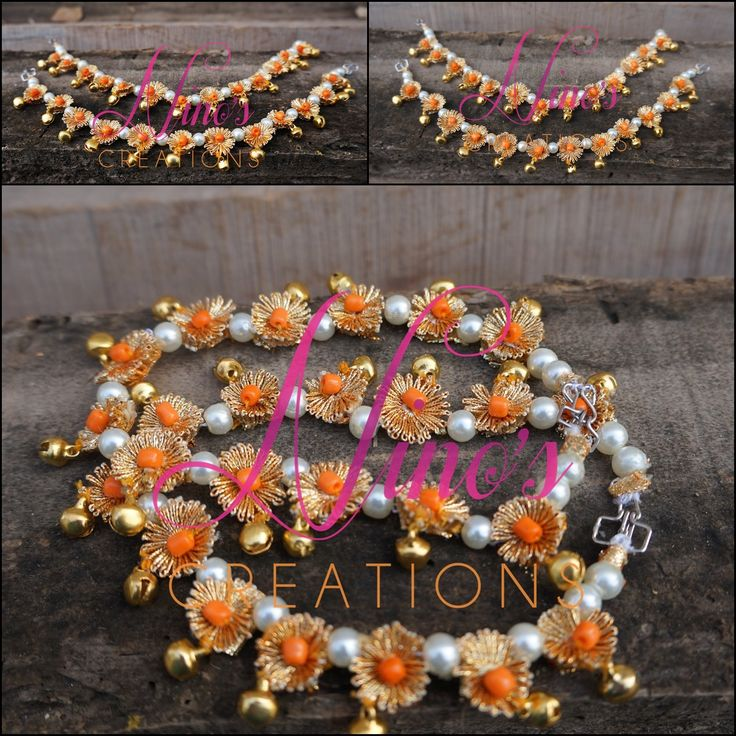 #anklets by https://www.facebook.com/Ninos-creations-123853704344831/