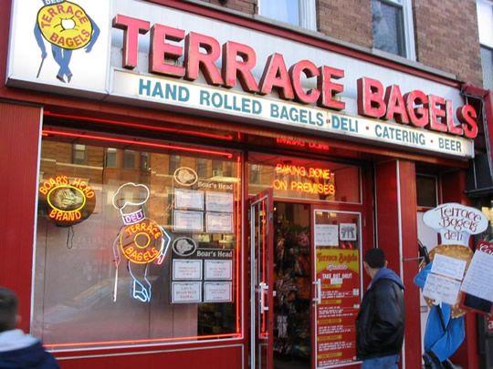 One dozen poppy seed bagels from Terrace Bagels please