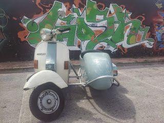 SidecarNapoli: Sidecar Vespa PX 150