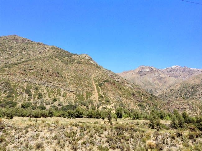weekend trip near Santiago, Chile