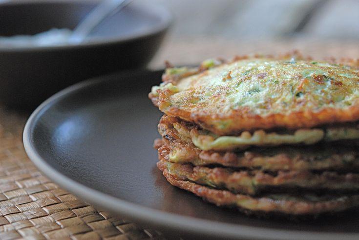 zucchini pancakes