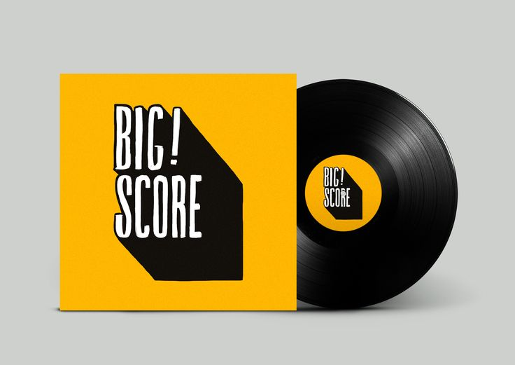 BIG SCORE  Logo for London-based music management and record company Big Score  mariatran.dk