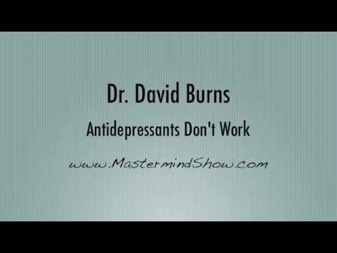 Dr. David Burns' opinion on the efficacy of Antidepressants to treat Depression: 1/3 Placebo Effect, the remaining is chemical alteration. #Repost #NotAnEndorsement - Clinical Mental Health Counseling - LPC - Depression Medications